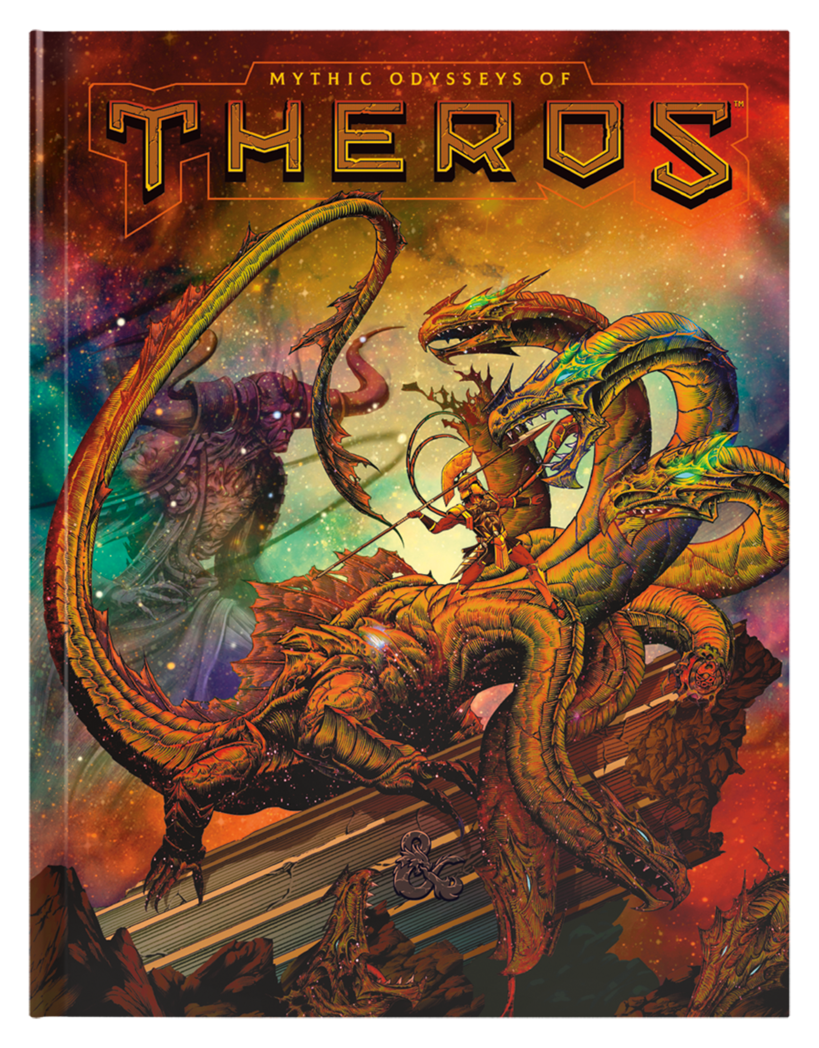 Dungeons & Dragons D&D 5th: Mythic Odysseys of Theros Alternate Cover