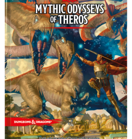 Dungeons & Dragons D&D 5th: Mythic Odysseys of Theros