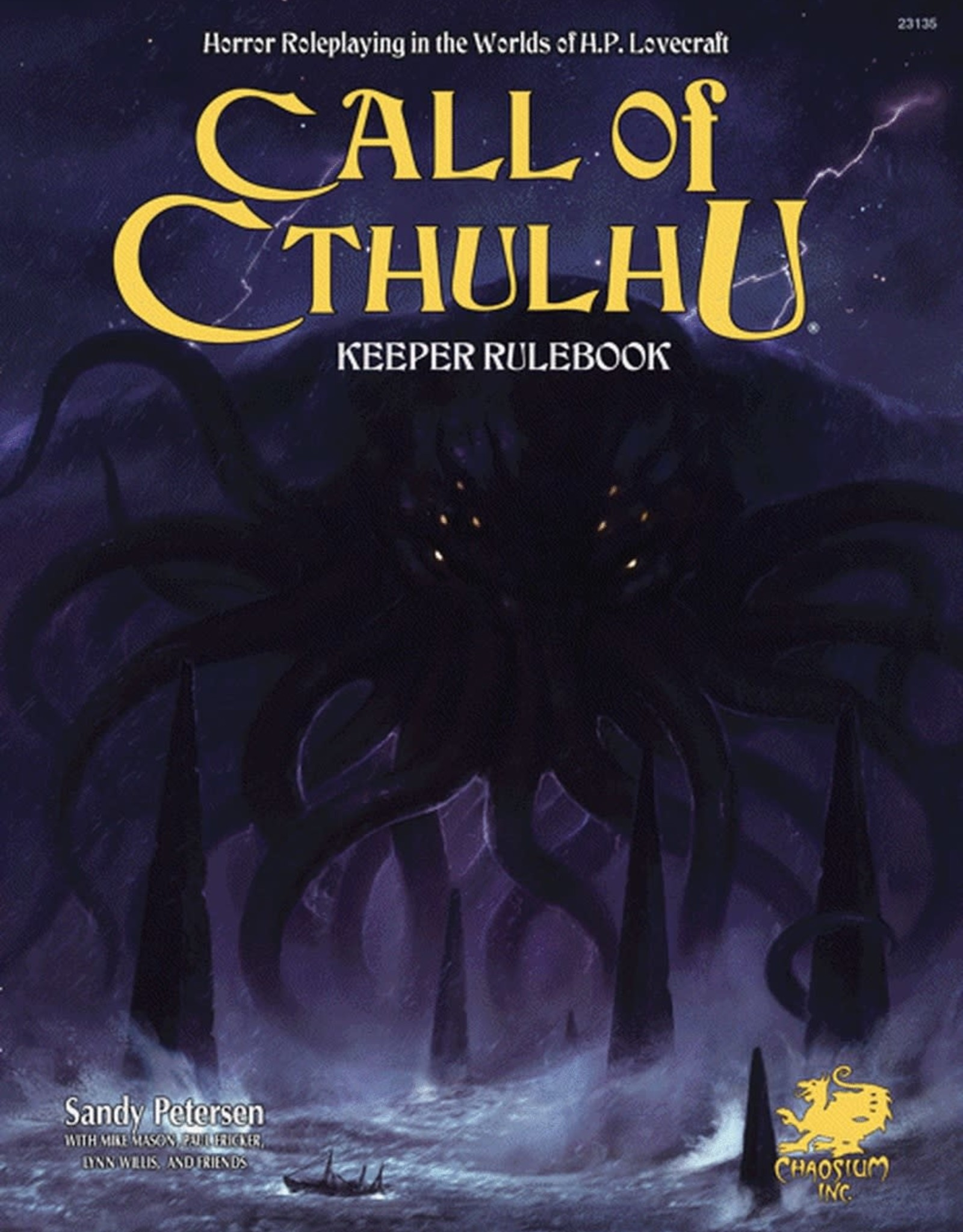 Call of Cthulhu Call of Cthulu Keeper Rulebook