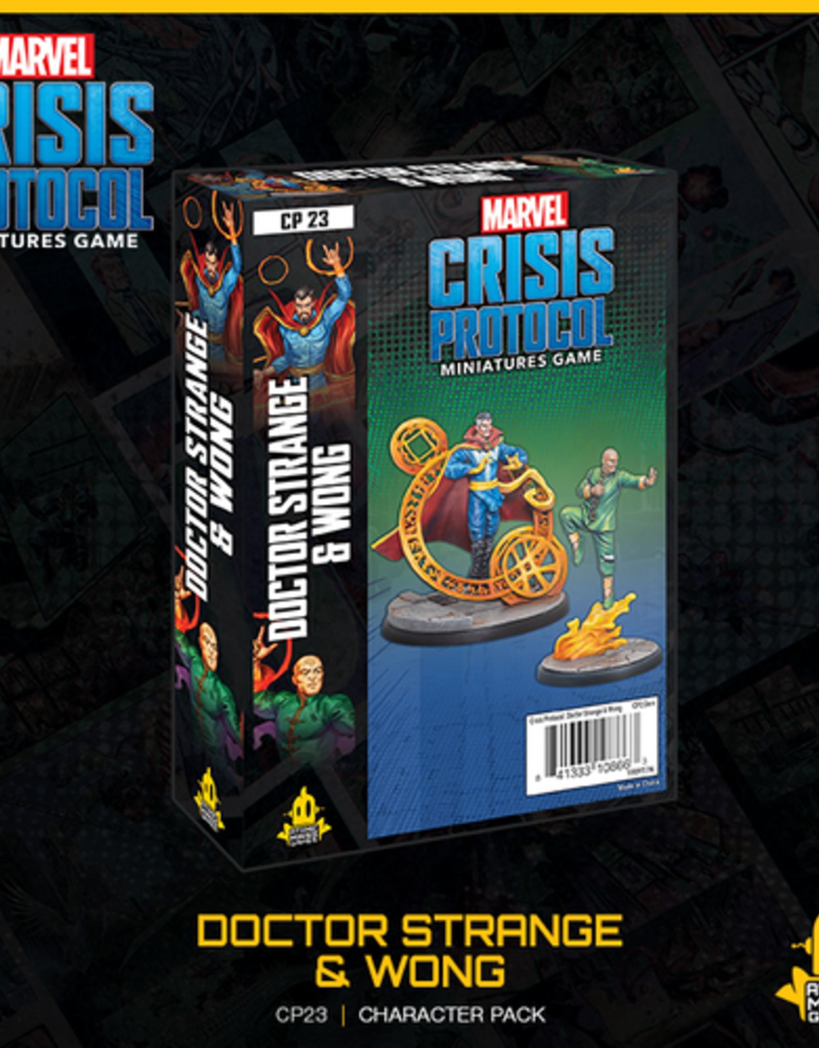 Crisis Protocol Doctor Strange & Wong
