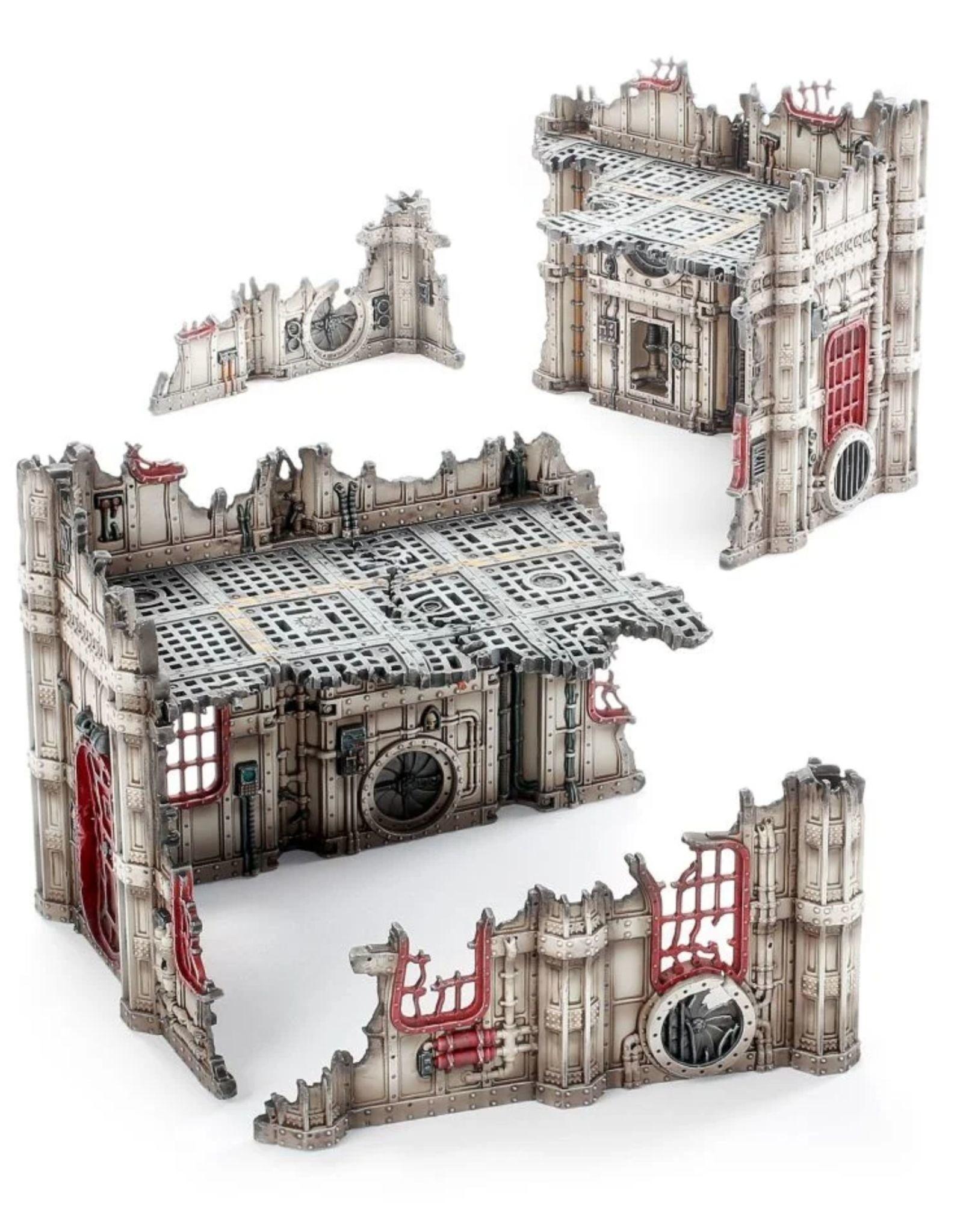Warhammer 40k Battlezone: Sub-Cloister and Storage Fane