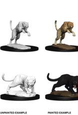 Dungeons & Dragons D&D NMU - Panther and Leopard
