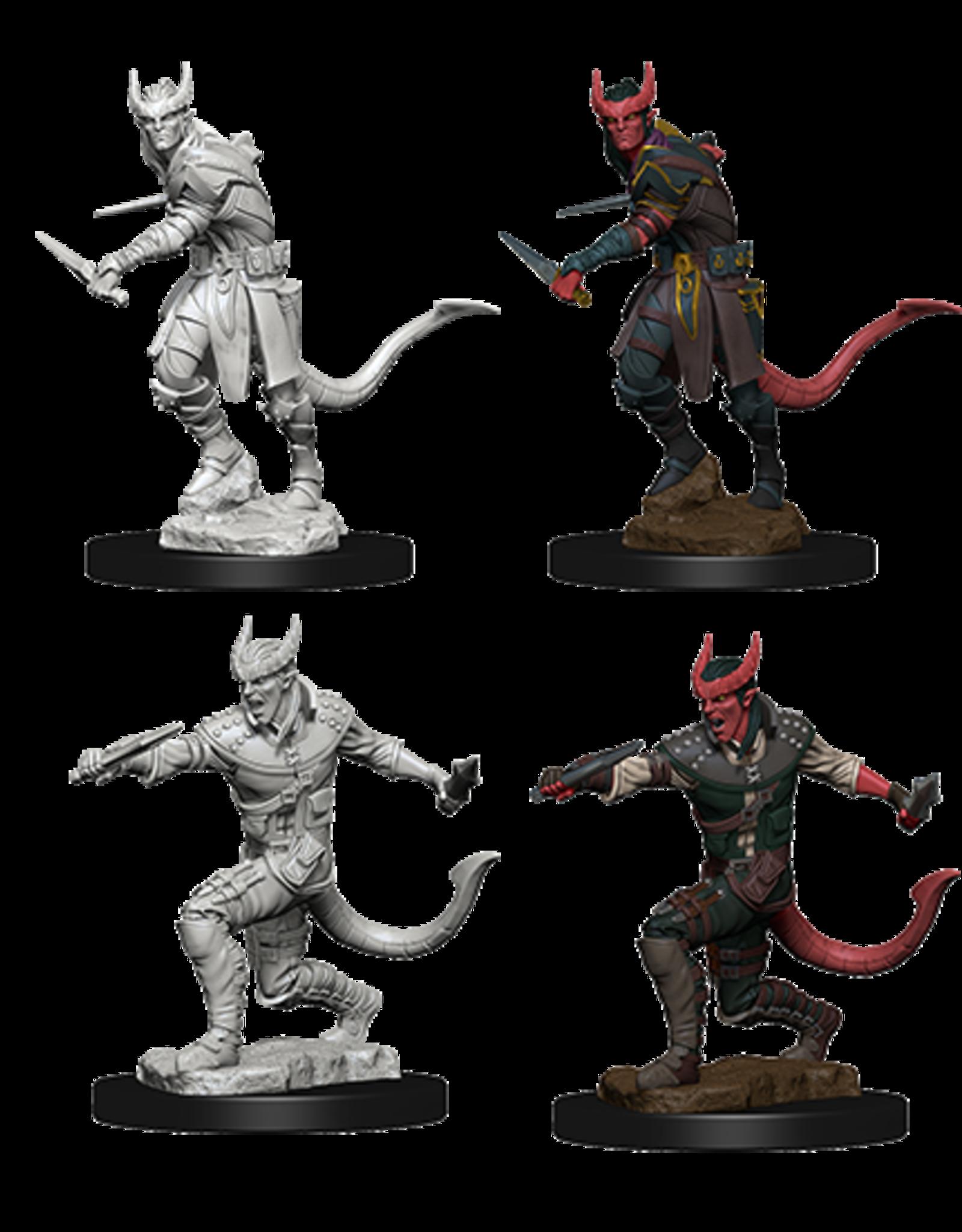 Dungeons & Dragons D&D NMU - Tiefling Rogue