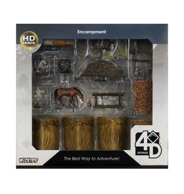 Nolzur's Marvelous Miniatures D&D D&D NMU: Encampment