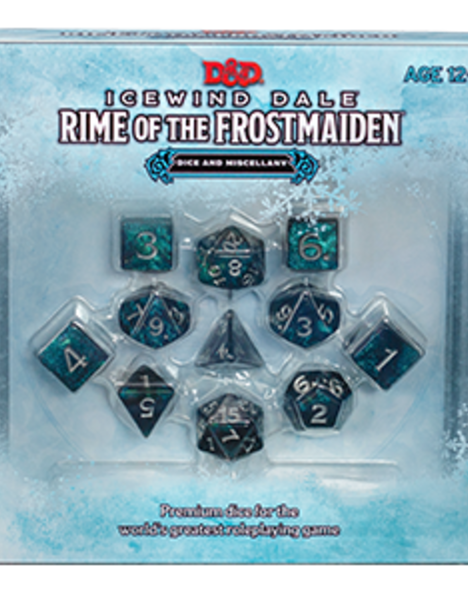 Dungeons & Dragons D&D 5E - Icewind Dale Rime of the Frost Maiden Dice