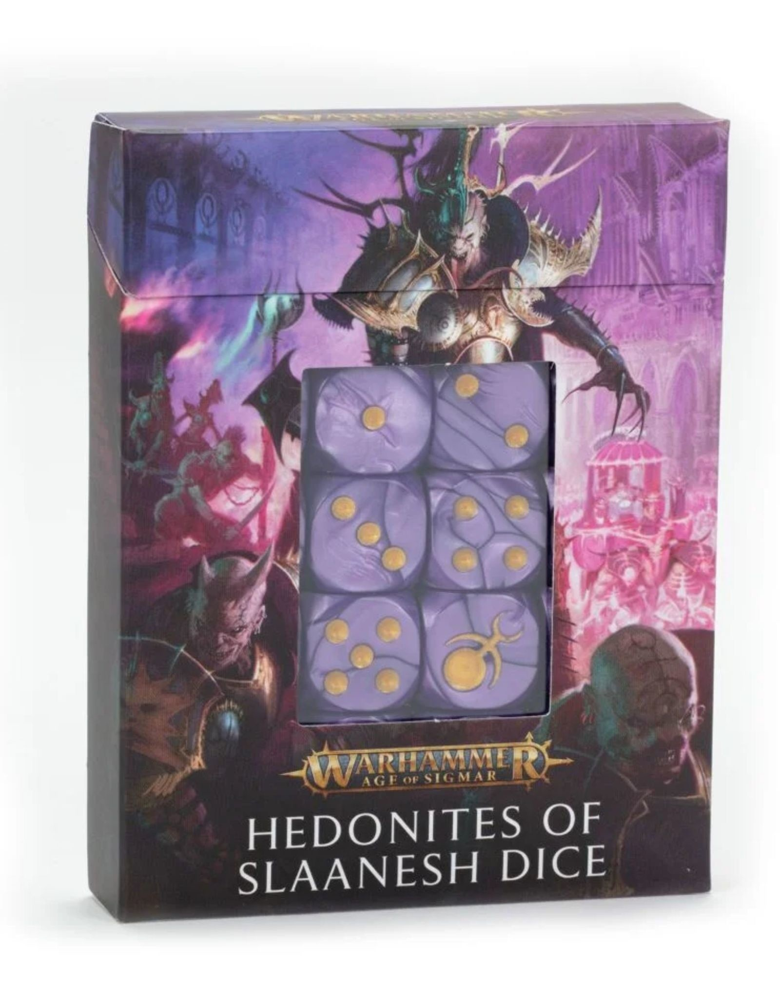 Age of Sigmar Hedonites of Slaanesh Dice