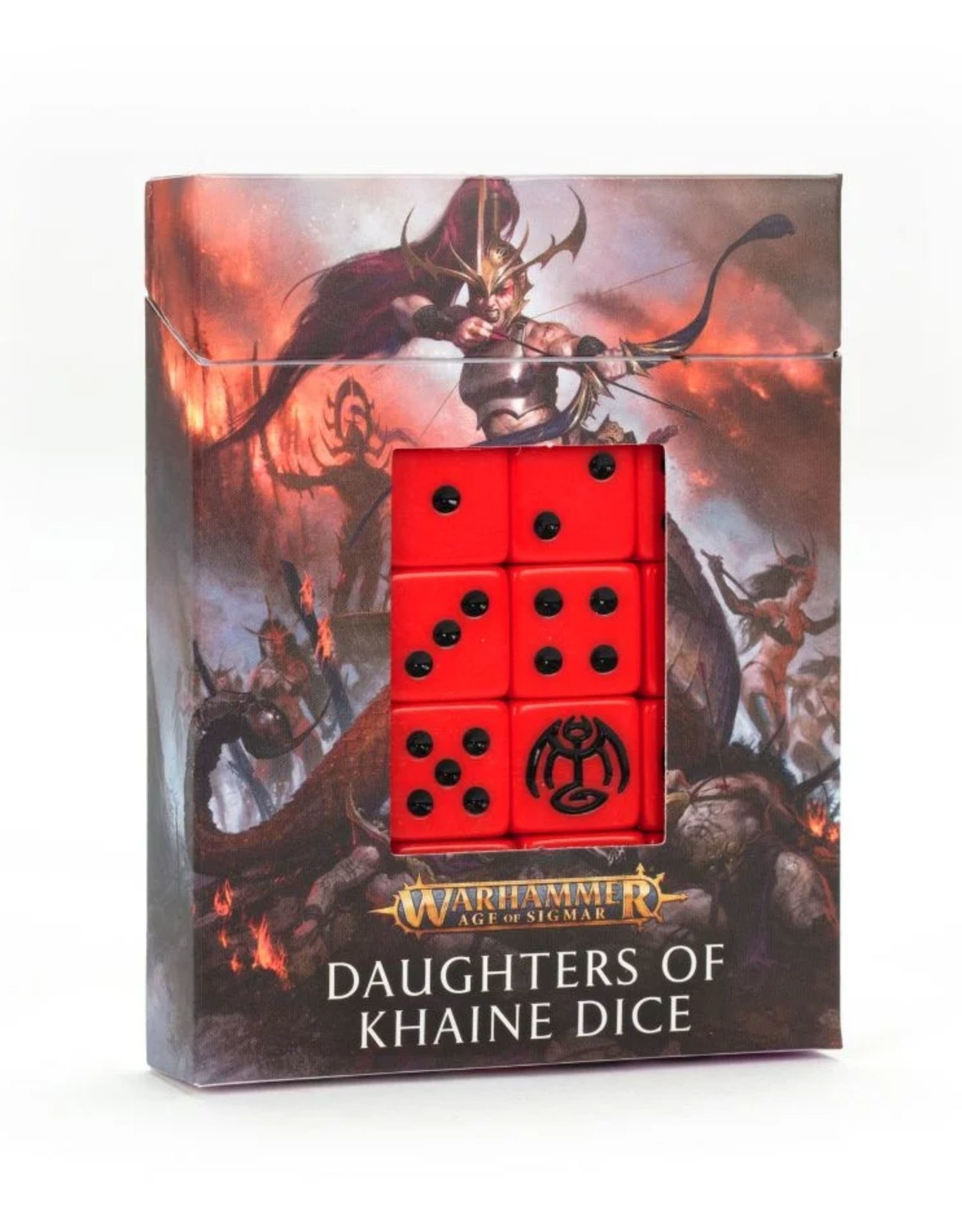 Age of Sigmar Daughters of Khaine Dice