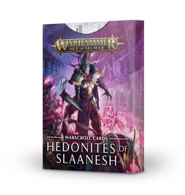 Age of Sigmar Warscroll Cards: Hedonites of Slaanesh