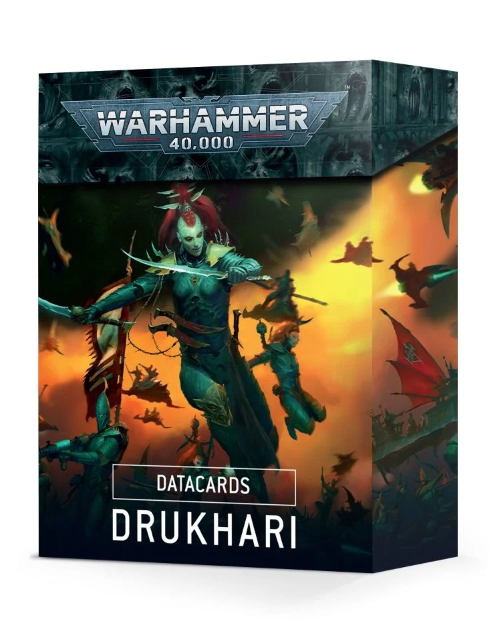Warhammer 40k Data Cards Drukhari (9th Edition)