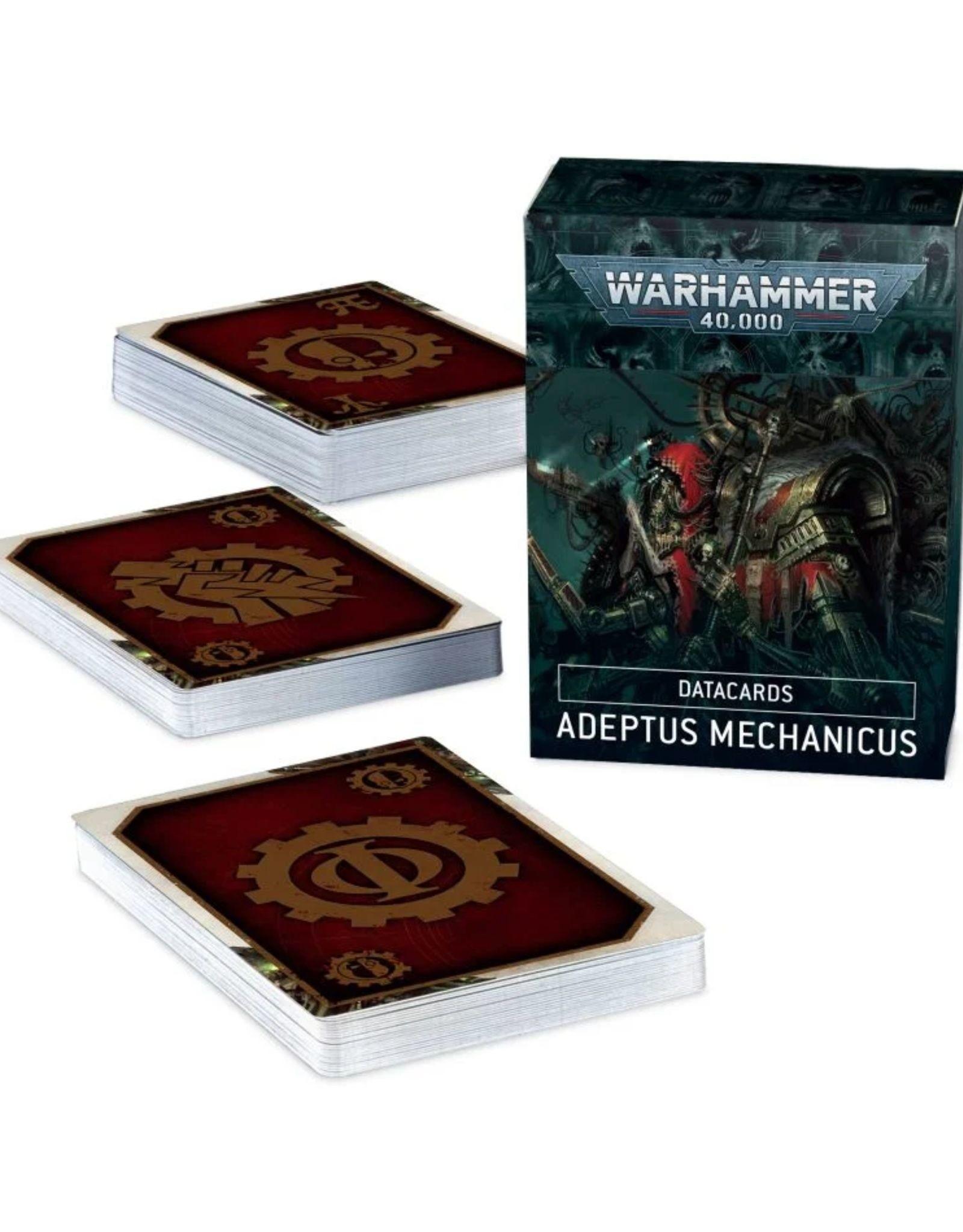 Warhammer 40k Adeptus Mechanicus Datacards 9th Edition