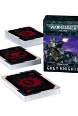 Warhammer 40k Grey Knights Data Cards