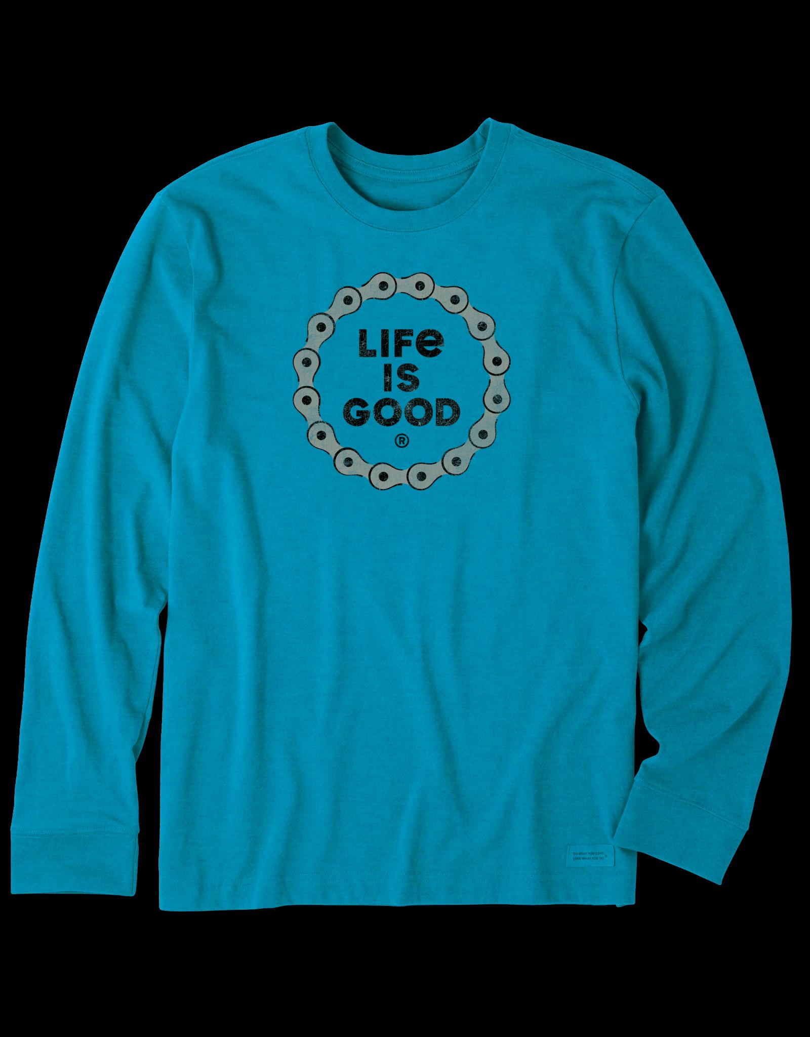 Life is Good Bike Chain Long Sleeve