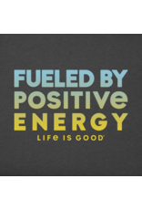 Life is Good Fueled by Positivity Long Sleeve