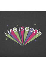 Life is Good Burst Long  Sleeve