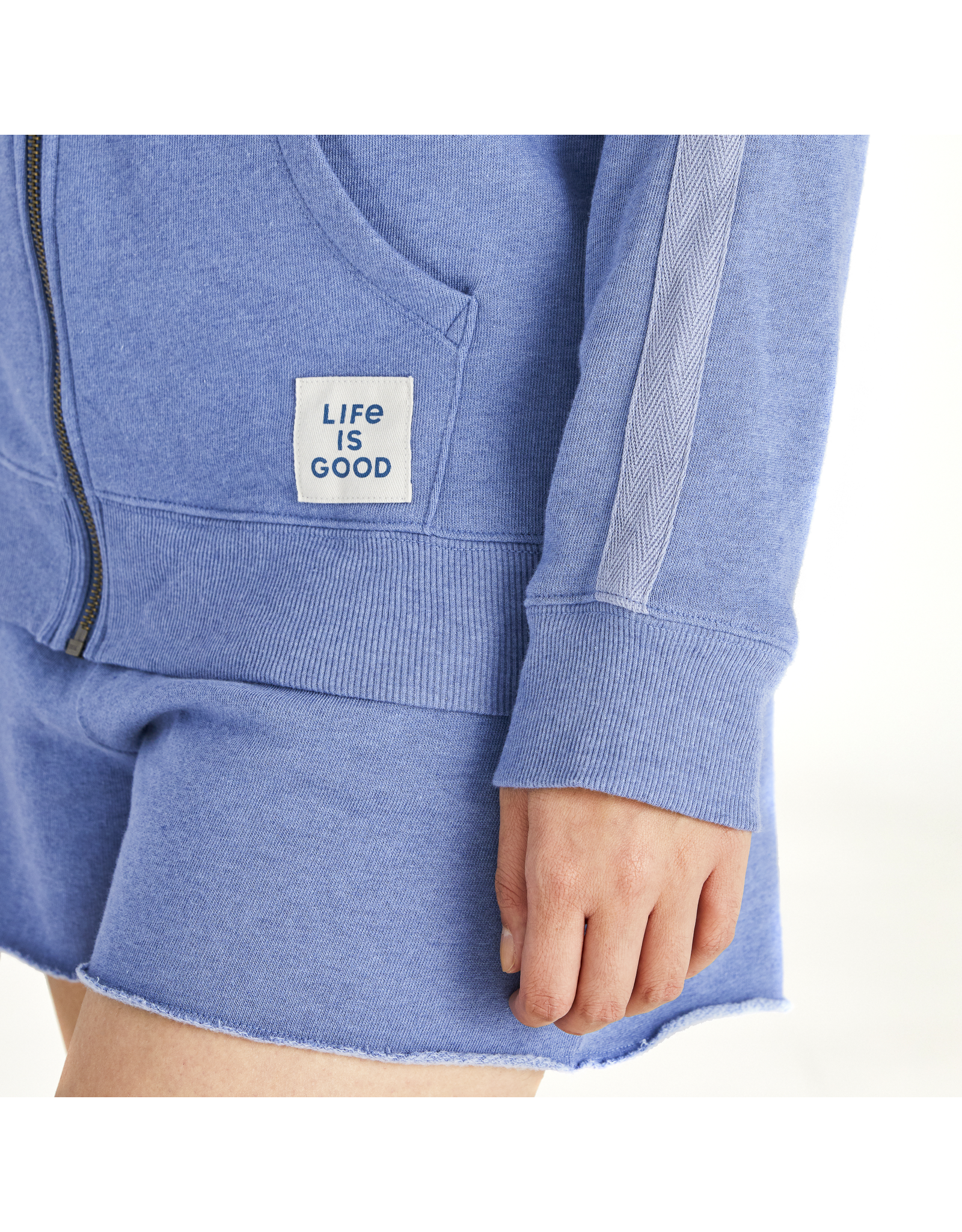 Life is Good Simply True Zip-Up