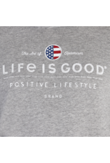 Life is Good Positive Lifestyle Long Sleeve