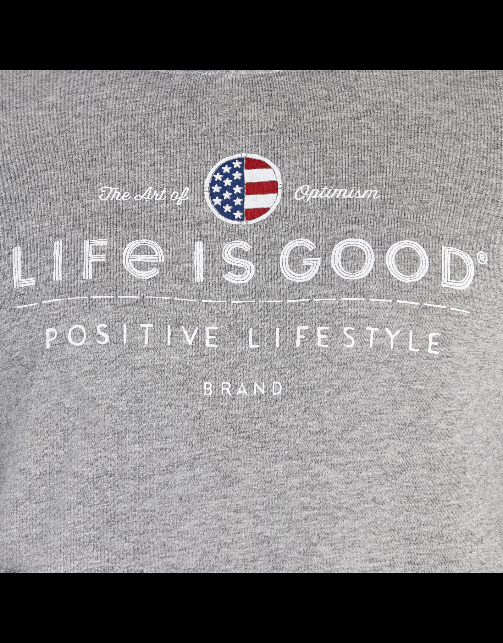 Life is Good Positive Lifestyle Long Sleeve