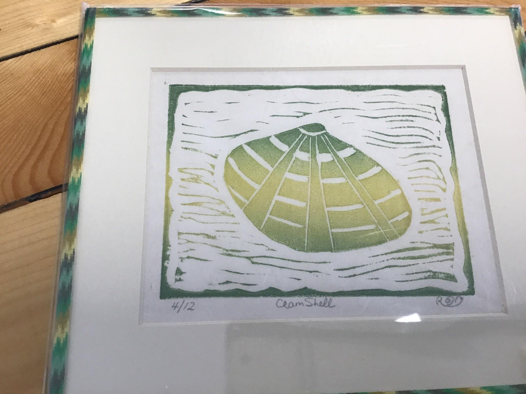 Ruth-Ann Mitchell Linocut Print