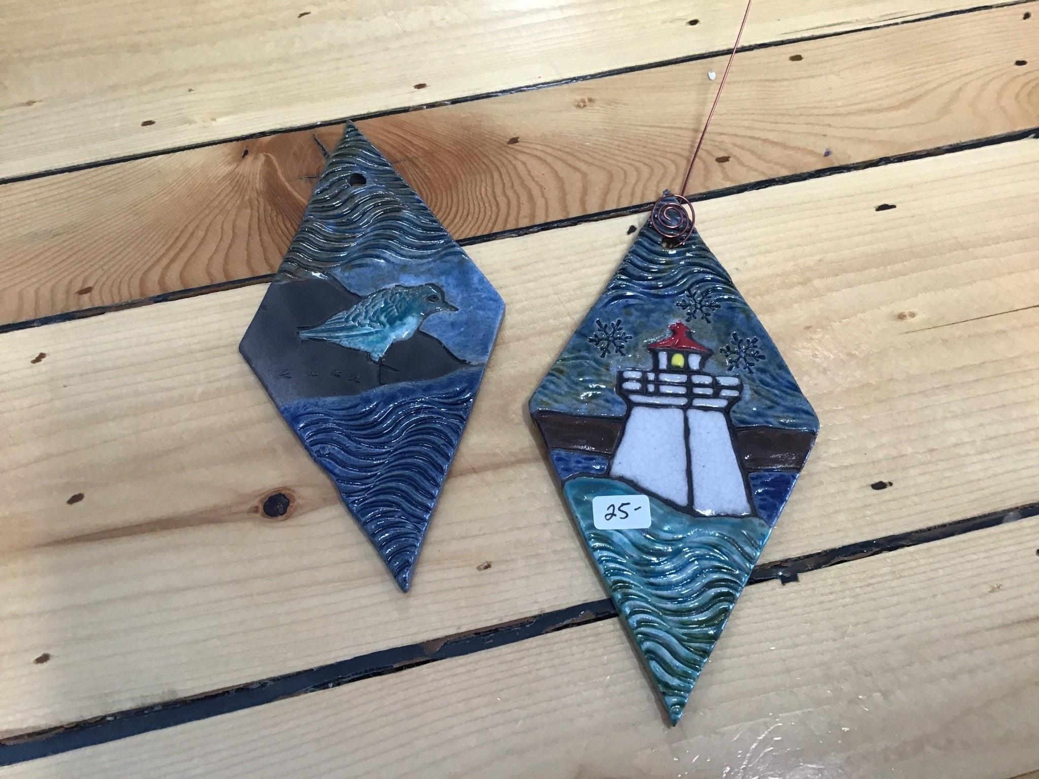 Tim Isaac Ornaments