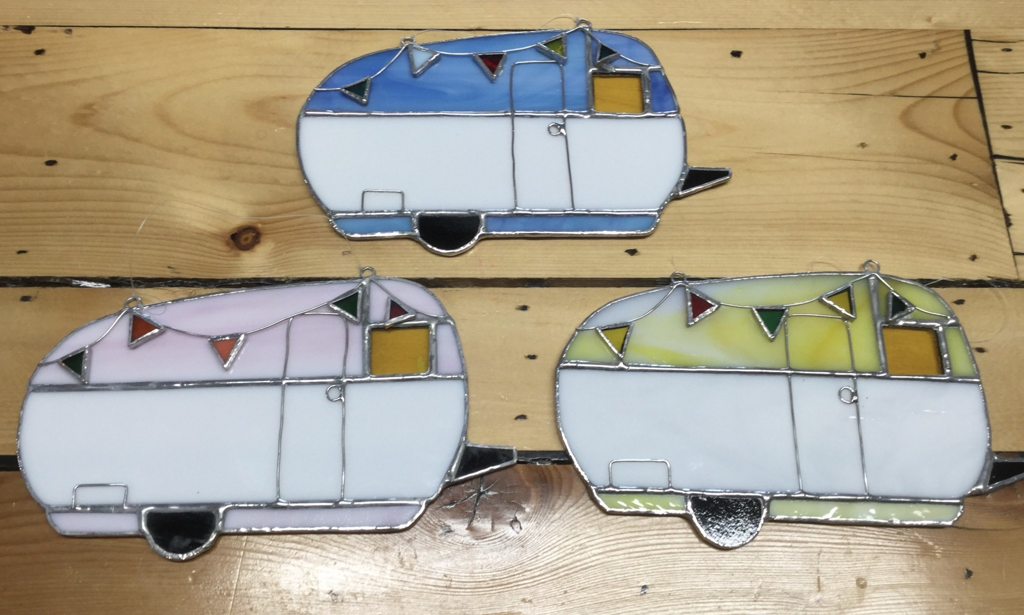 Stained Glass Camper