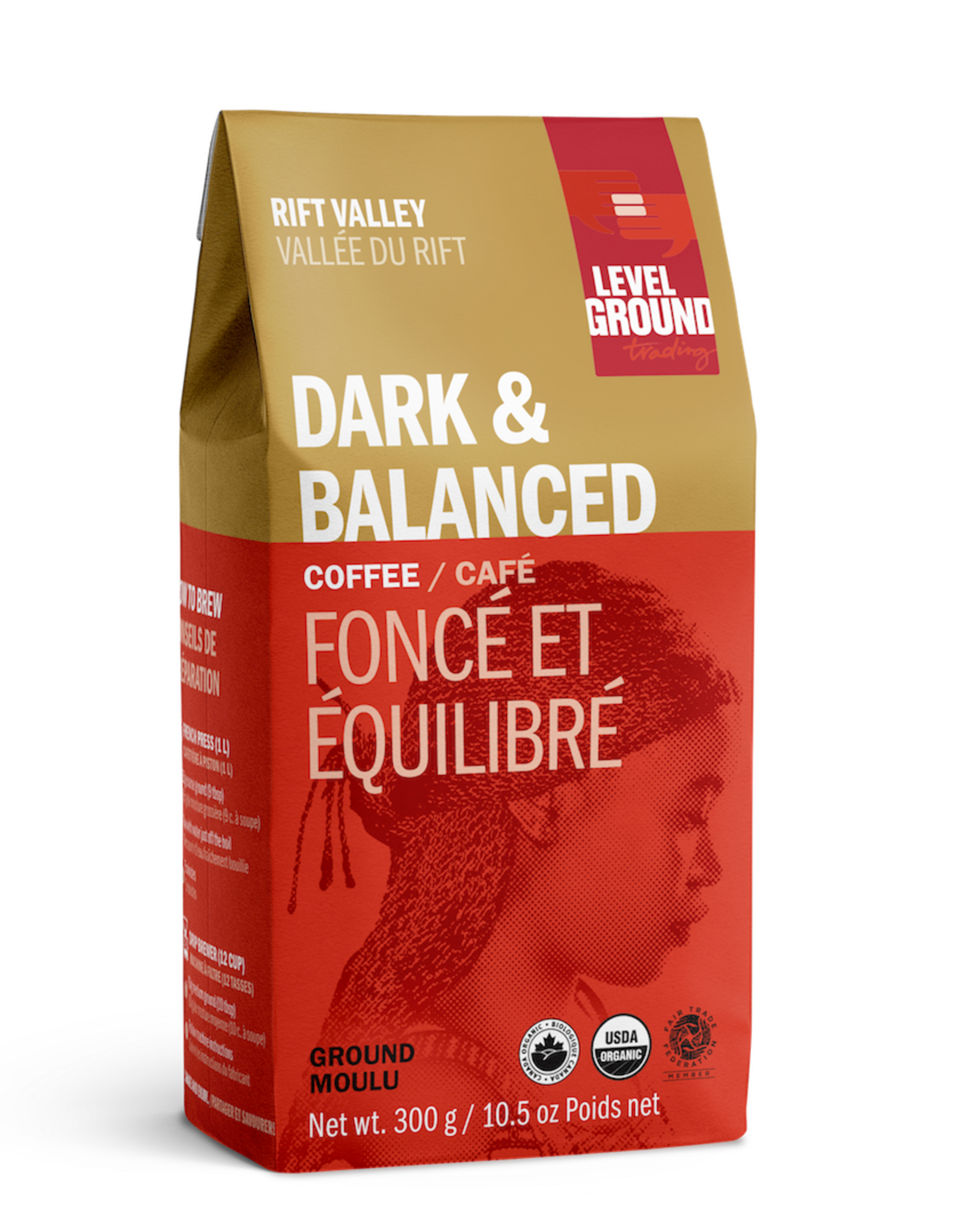 Level Ground Coffee, Rift Valley, Ground 300g