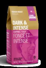 Level Ground Coffee, French Roast, Bean 300g