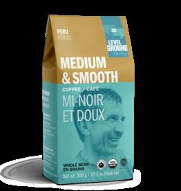 Level Ground Coffee, Peru Medium Roast, Bean 300g