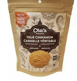 Cha's Organics Cha's Organic True Cinnamon, Ground 130g