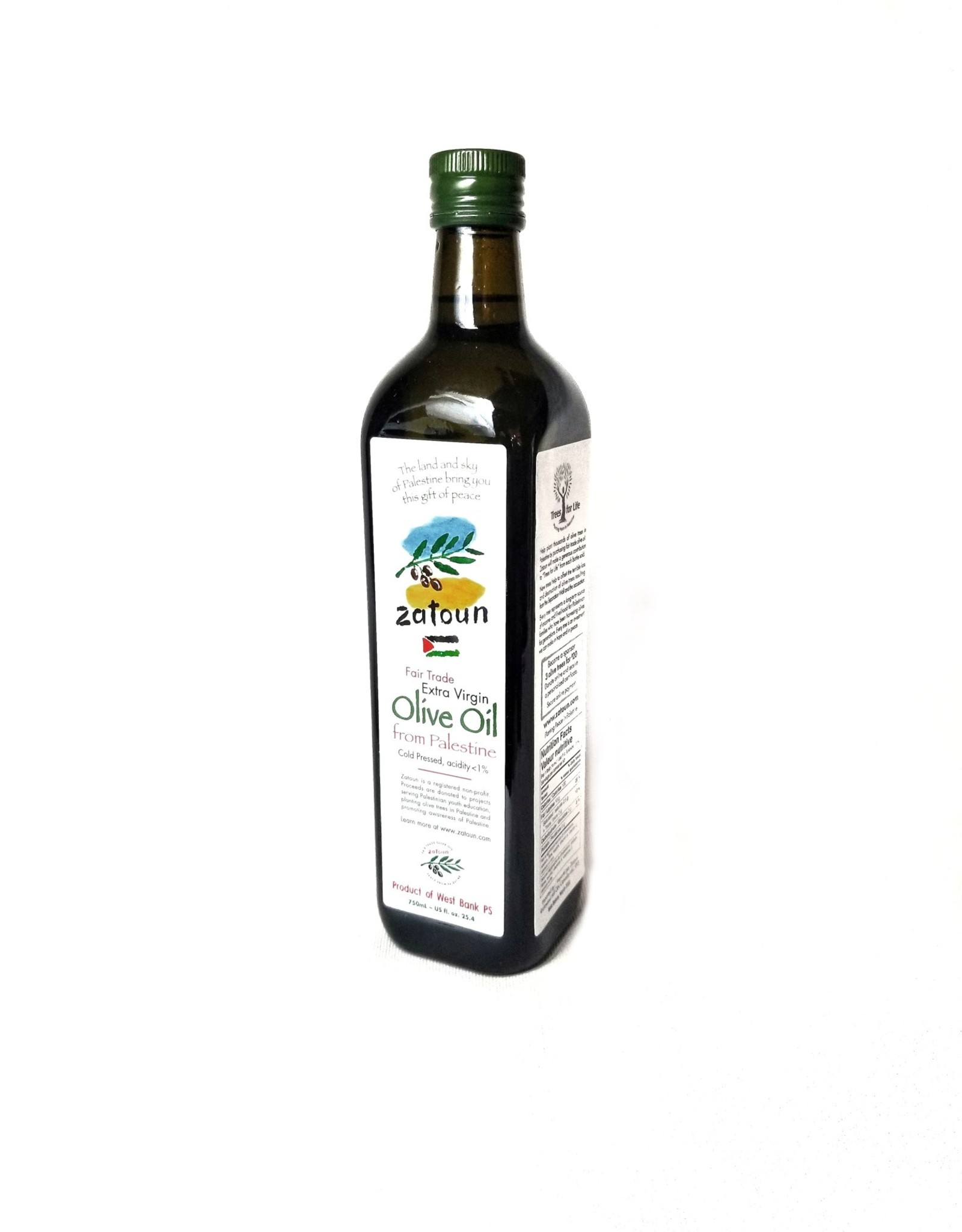 Zatoun Zatoun Fair Trade  Extra Virgin Olive Oil from Palestine
