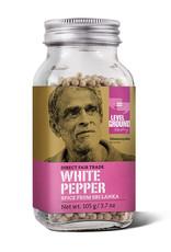 Level Ground Level Ground White Whole Pepper, 105g