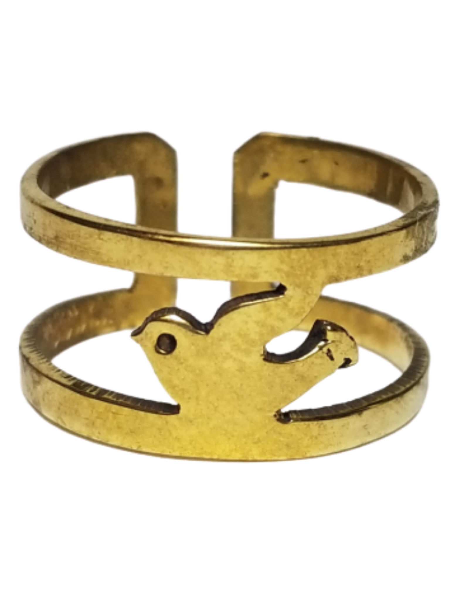 Dove Of Peace Bombshell Ring