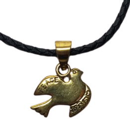 Peace Dove Bombshell Necklace