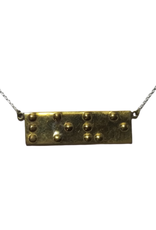Braille 'Love' Bombshell Necklace