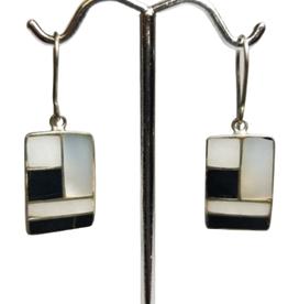 Geometry Class Silver Earrings