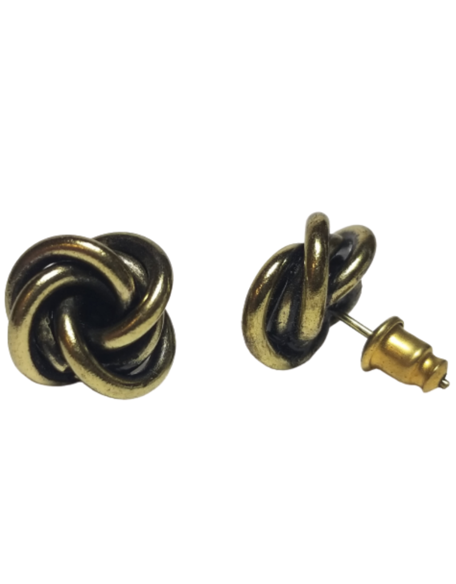 Twisted Knot Stud Earrings
