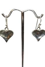 Glistening Heart Earrings