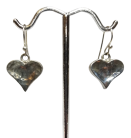 Glistening Heart Earrings