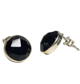 Ten Thousand Villages Midnight Onyx Earrings