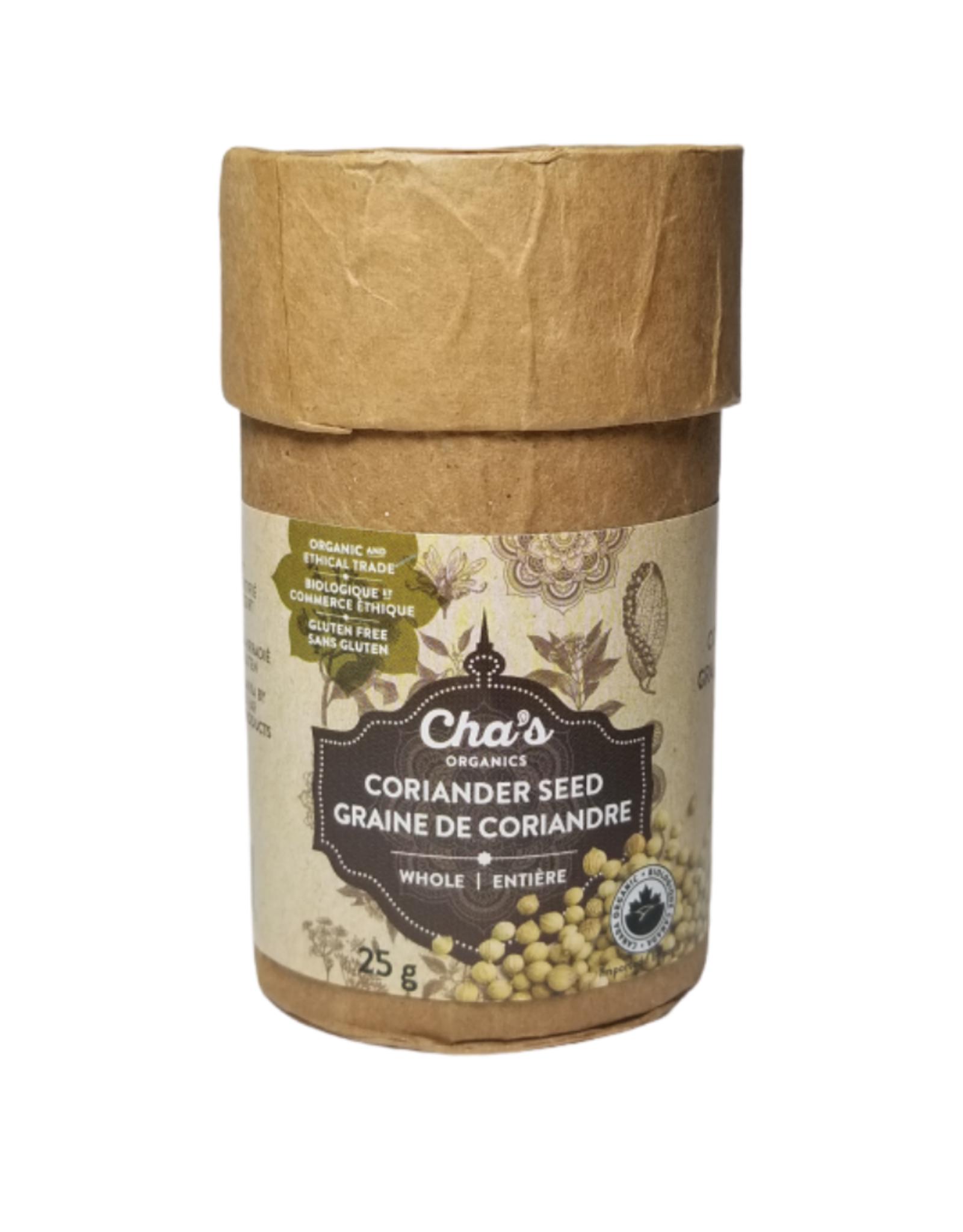 Cha's Organics Cha's Coriander Seed