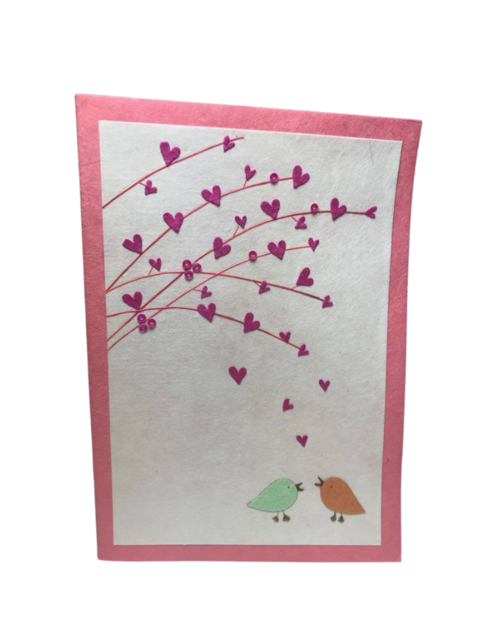 Hearts And Boughs Card