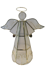 Ten Thousand Villages Capiz Tree Topper Angel