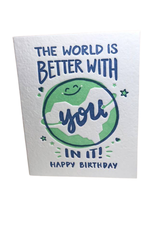 World Birthday Card
