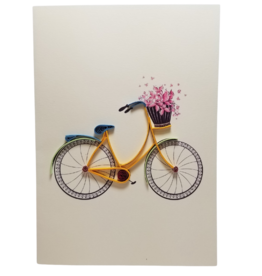 Bicycle Greeting Card - Vietnam