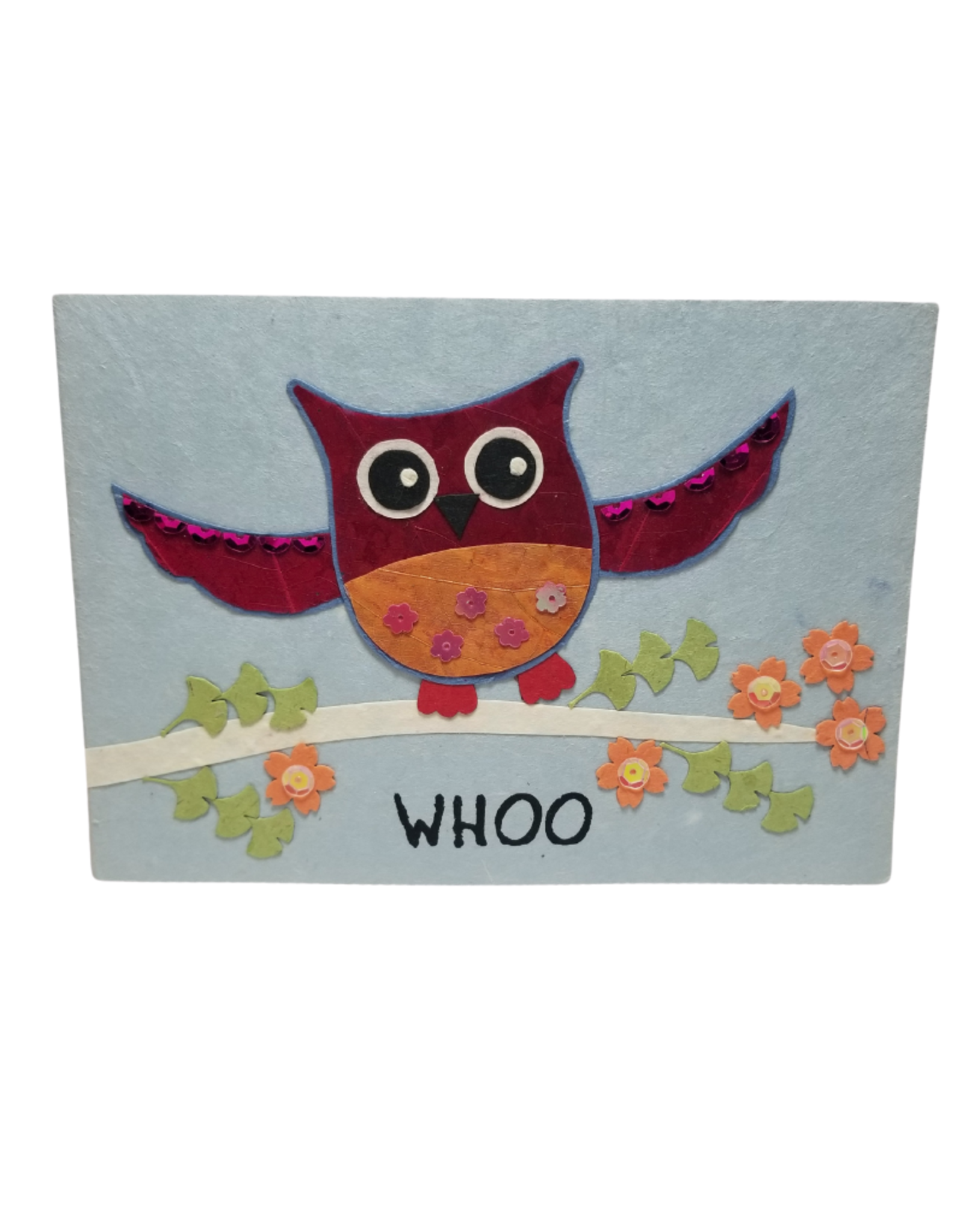 Dancing Owl Card