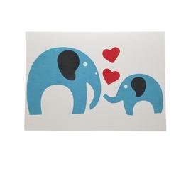 Loving Heart Elephant Card - Bangladesh