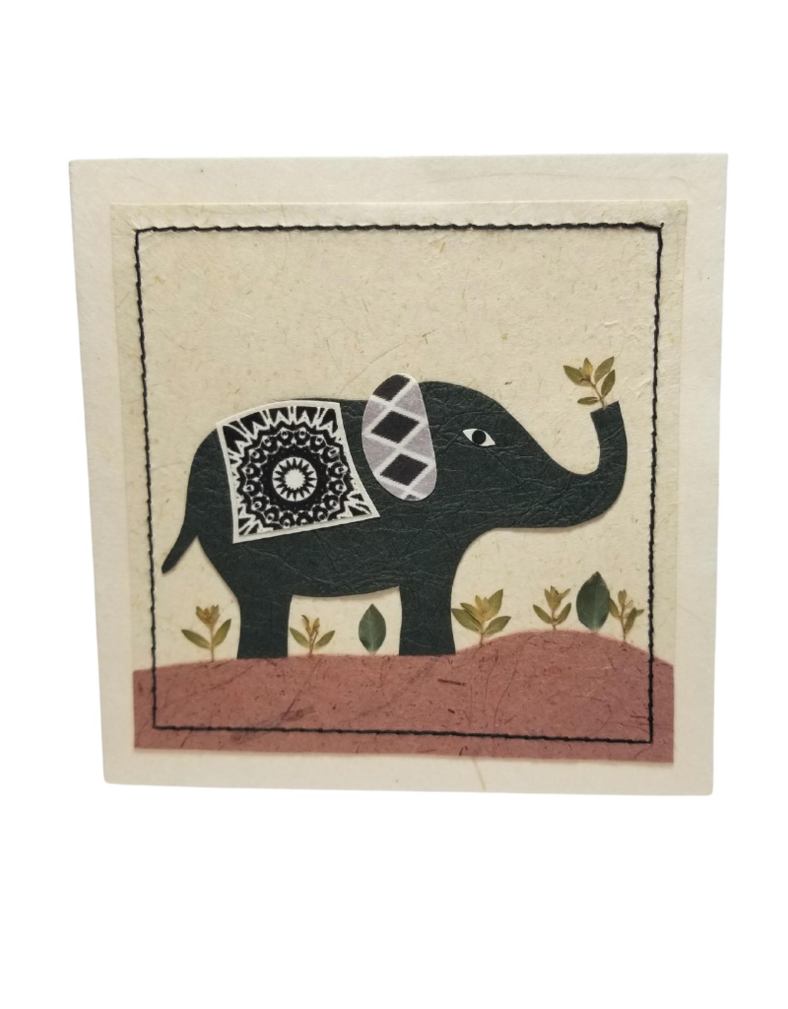 Peaceful Elephant Card