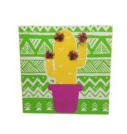Pom Pom Cactus Greeting Card