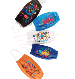 Lucia's Imports Face Mask Kids Embroidered - Guatemala