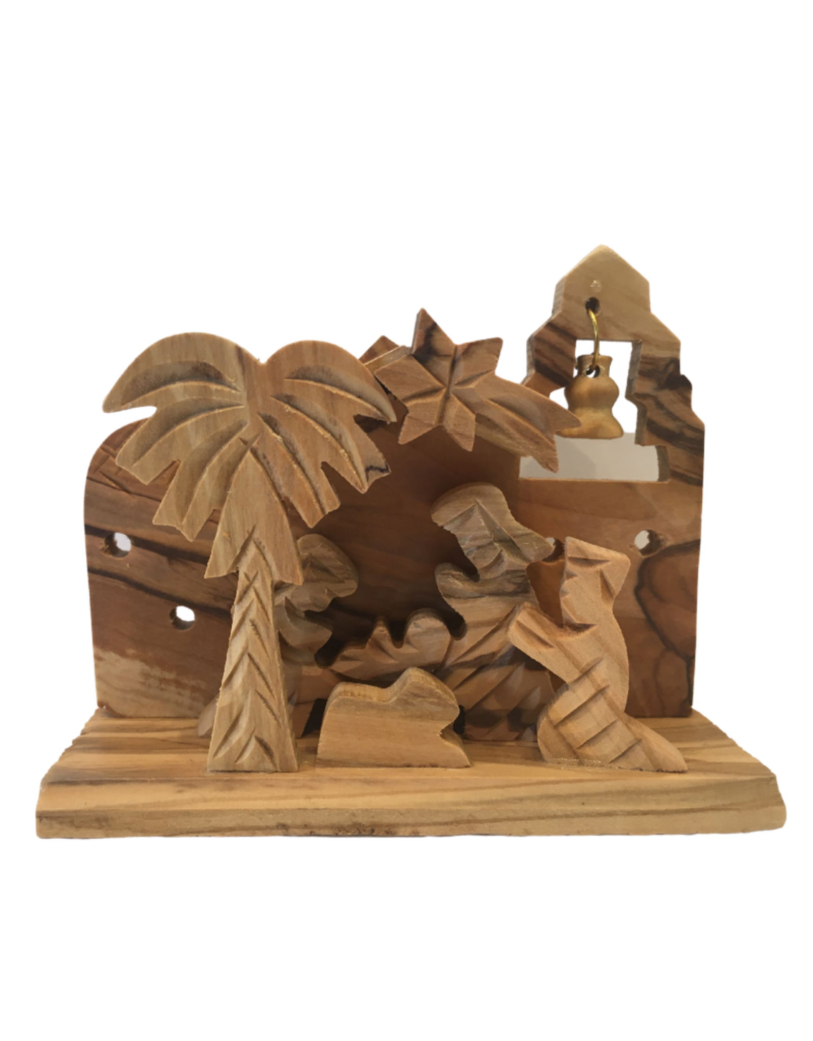 Ten Thousand Villages Small Olivewood Nativity