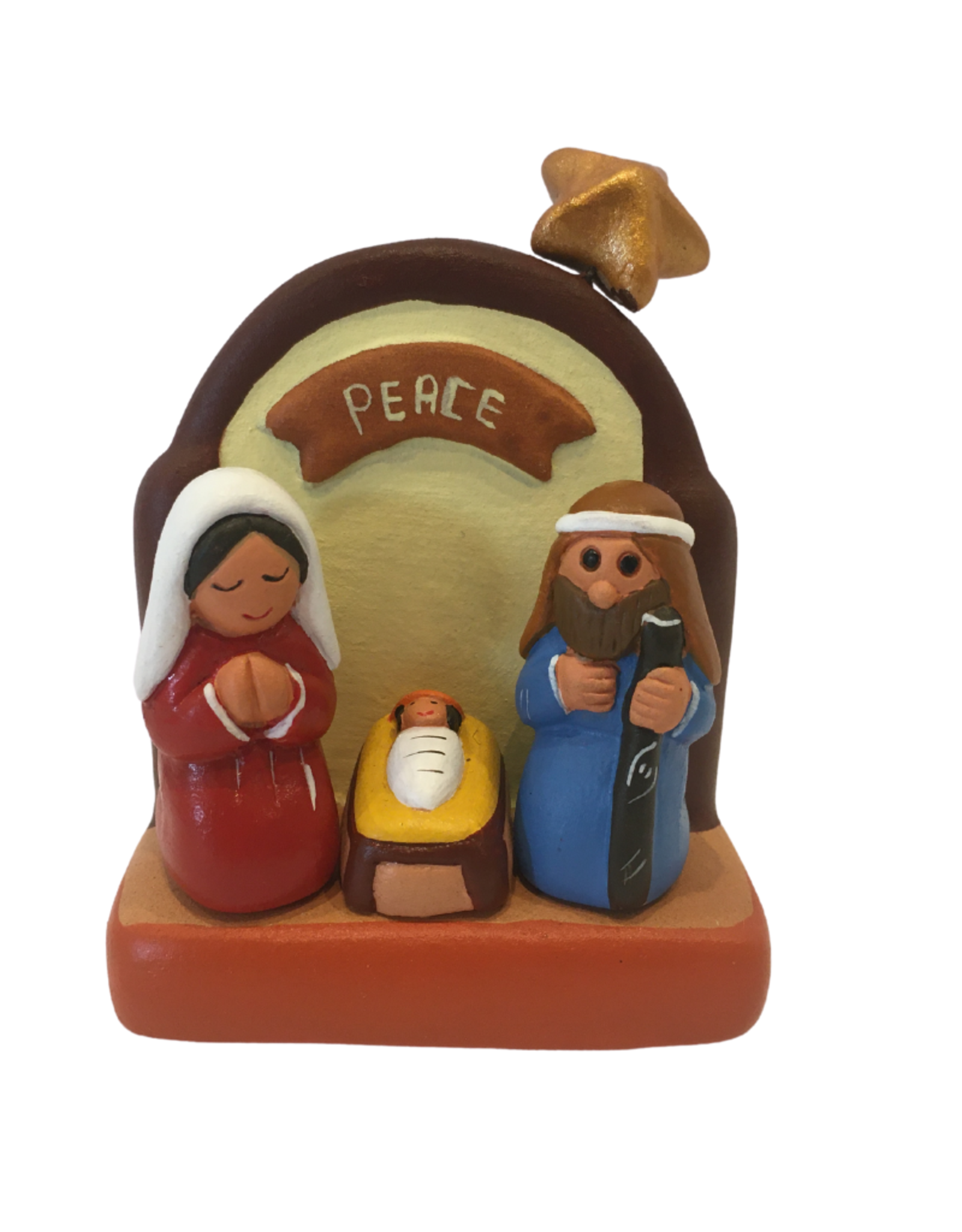 Ten Thousand Villages Small Ceramic Nativity